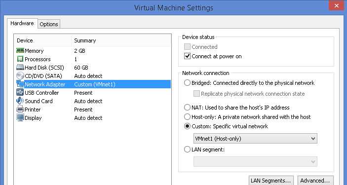 FortiGate appliance in VMWare Workstation | Nbctcp's Weblog