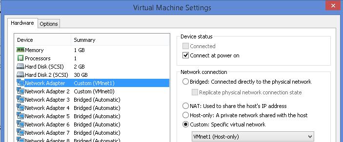 FortiGate appliance in VMWare Workstation | Nbctcp's Weblog
