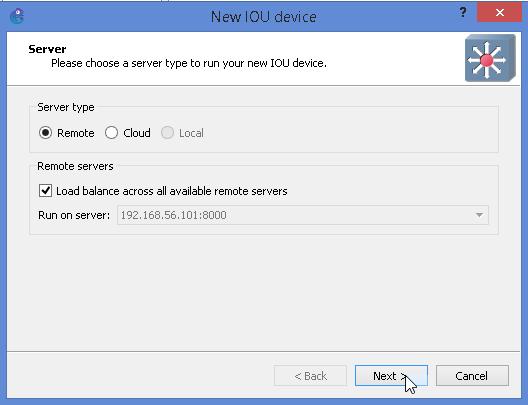 IOU in GNS3 1 2 Installation | Nbctcp's Weblog