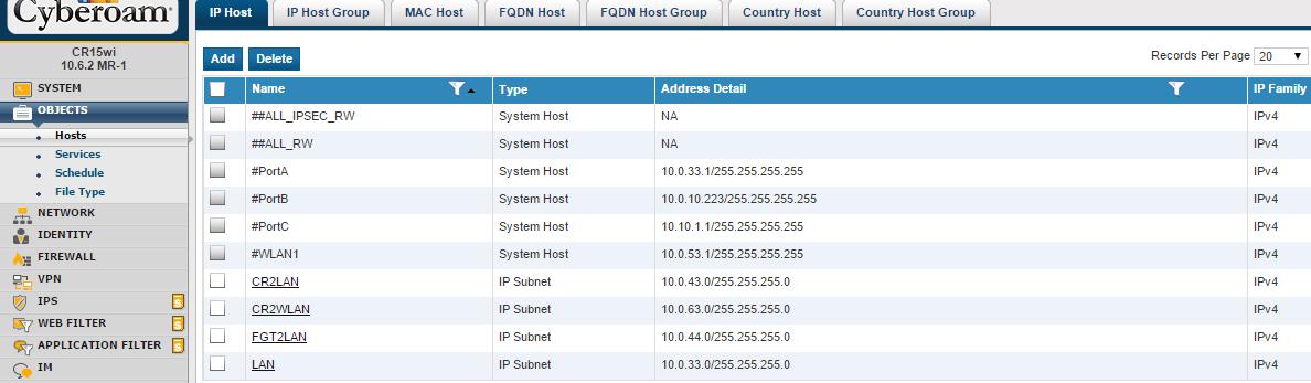 Site-to-Site IPsec VPN Cyberoam to FortiGate | Nbctcp's Weblog