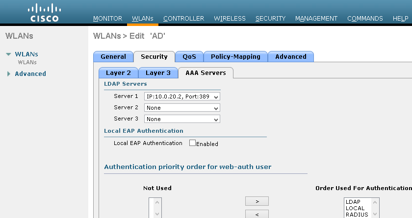 vWLC Installation with AP AIR-LAP1242AG | Nbctcp's Weblog